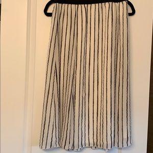 Leith NWT striped Skirt